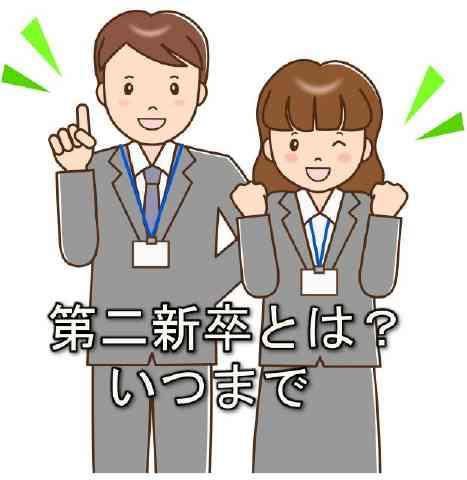 【第二新卒とは?いつまで】大手企業に転職する求人を狙えるって・・・